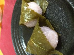 一ノ蔵 桜餅 (1)